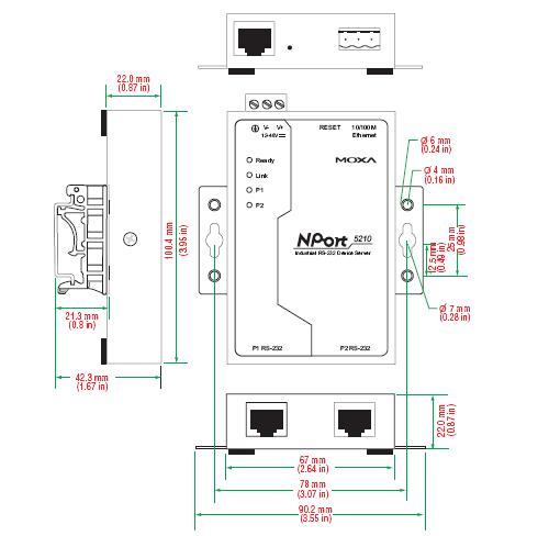 2 wire ethernet diagram