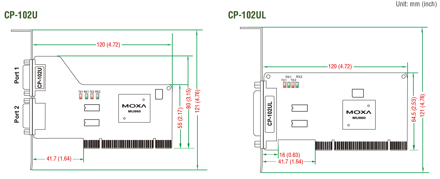 Moxa cp-104 ul driver for windows 7